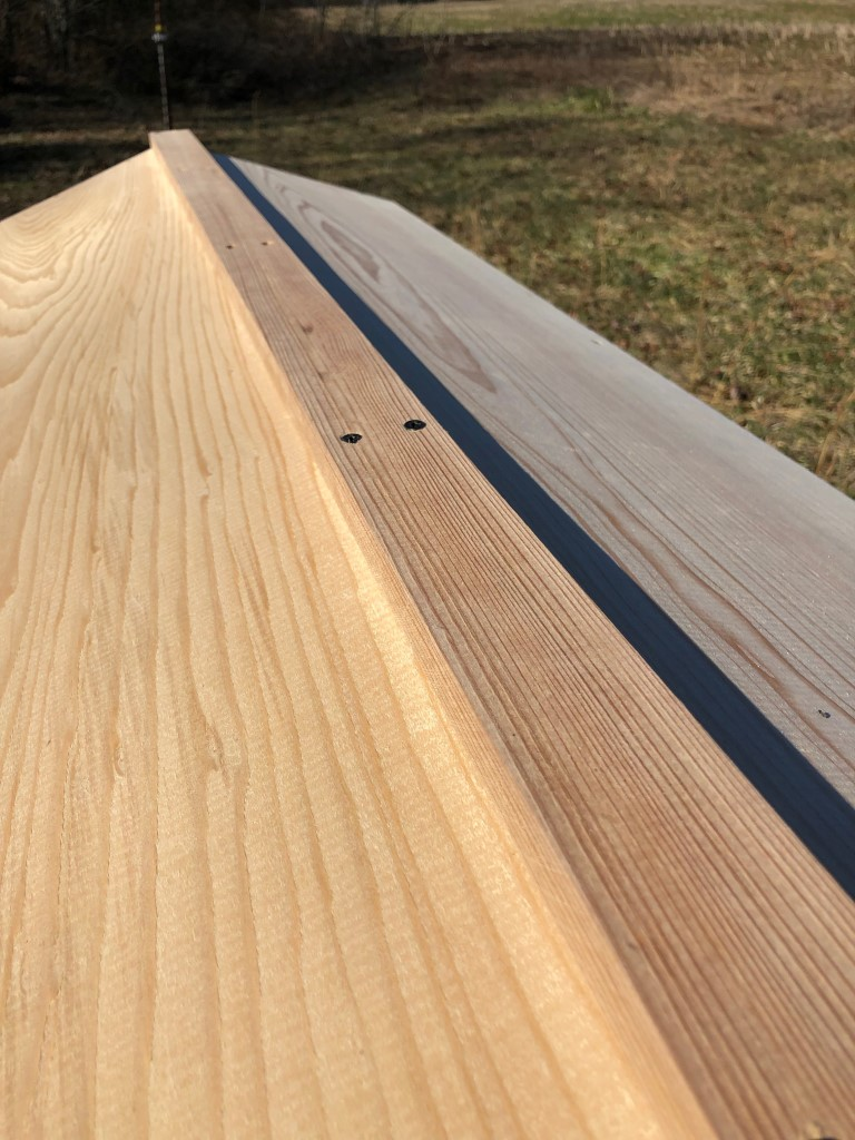 Beautiful lightweight cypress roof
